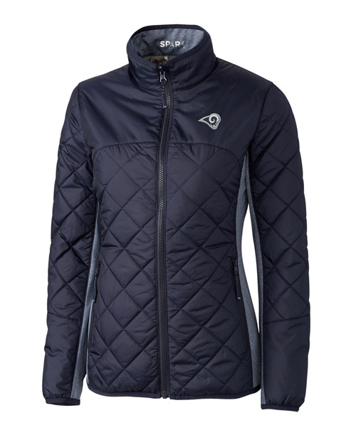 LA Rams Ladies' Sandpoint Quilted Jacket