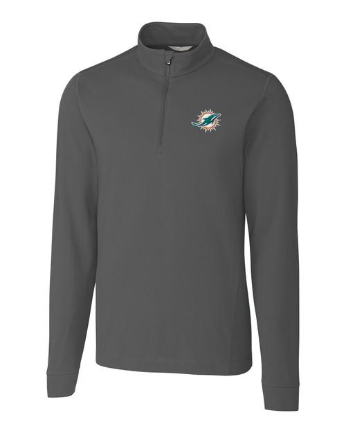 Miami Dolphins B&T Advantage Zip Mock