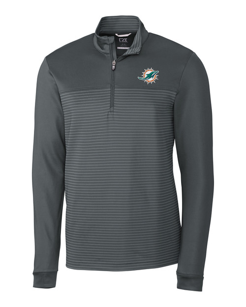 Miami Dolphins Traverse Stripe Half Zip