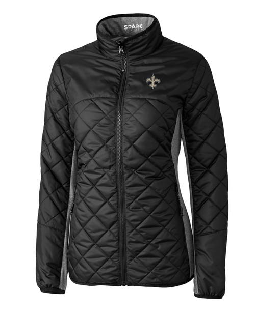 New Orleans Saints Ladies' Sandpoint Quilted Jacket 1