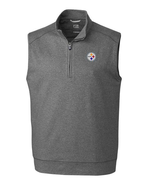 Pittsburgh Steelers B&T Shoreline Half Zip Vest
