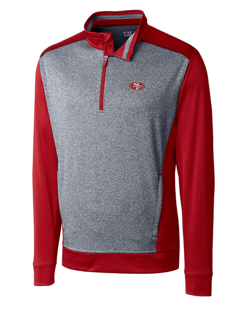 San Francisco 49ers B&T Replay Half Zip 1