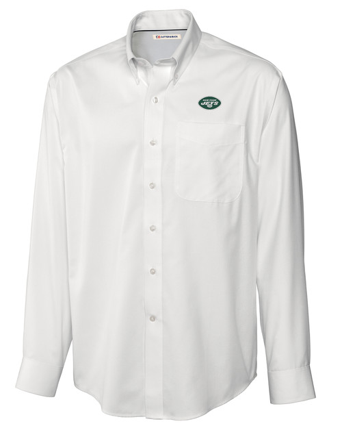 New York Jets Easy Care Fine Twill