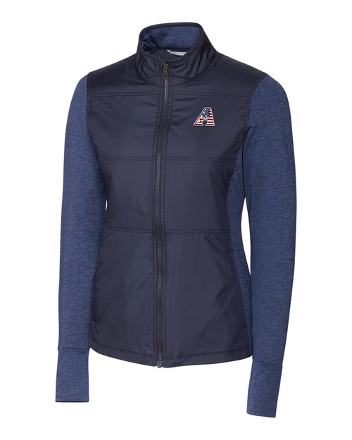 Arizona Diamondbacks Americana Ladies' Stealth Full-Zip
