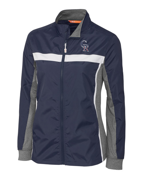 Colorado Rockies Americana Ladies' Swish Full Zip