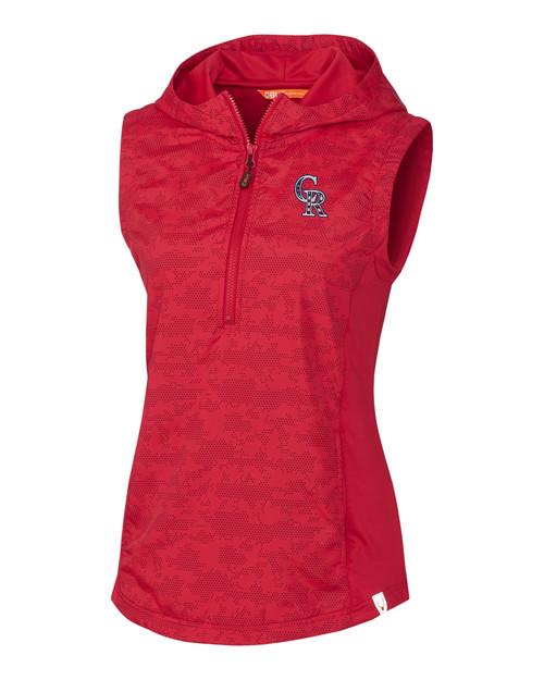 Colorado Rockies Americana Ladies' Swish Printed Vest