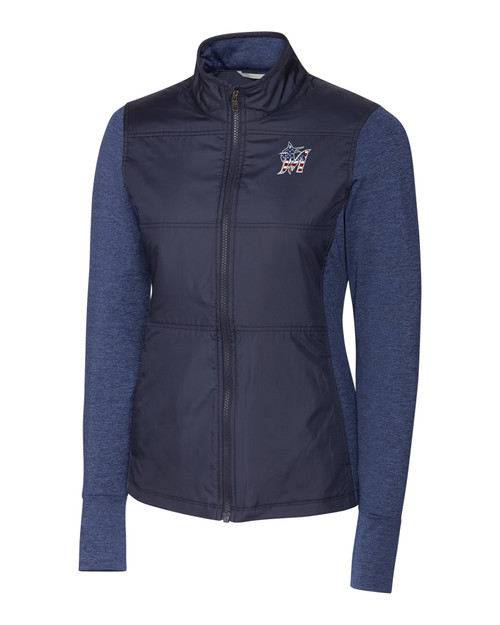 Miami Marlins Americana Ladies' Stealth Full-Zip