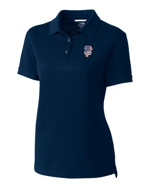 San Francisco Giants Americana Ladies' Advantage Polo