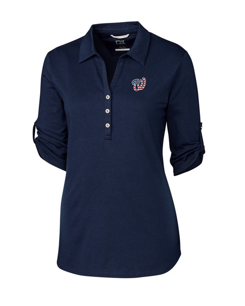 Washington Nationals Americana Ladies' Thrive Polo