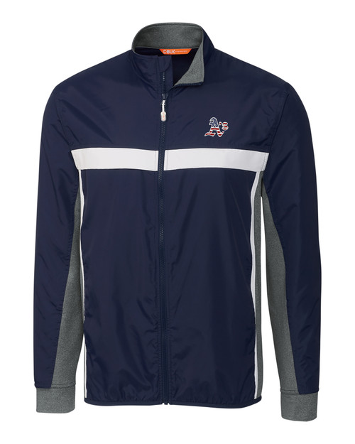 Oakland Athletics Americana Men's Swish Full-Zip Jacket