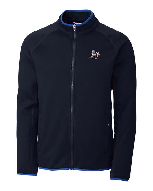 Oakland Athletics Americana Men's Discovery Windblock Jacket
