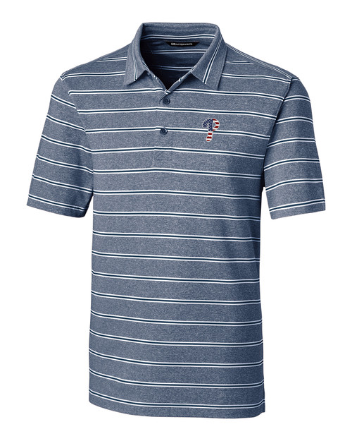 Philadelphia Phillies Americana Men's Forge Polo Heather Stripe