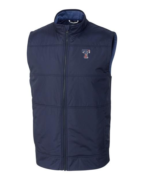 Texas Rangers Americana Men's Stealth Full-Zip Vest