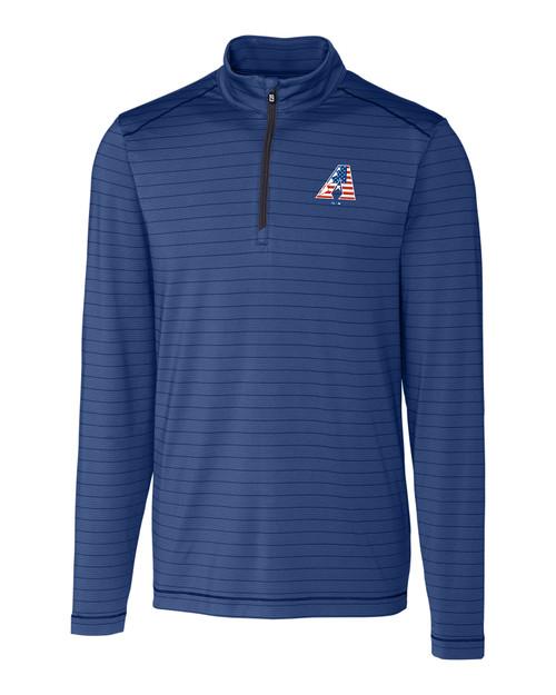 Arizona Diamondbacks Americana B&T Holman Stripe Half-Zip