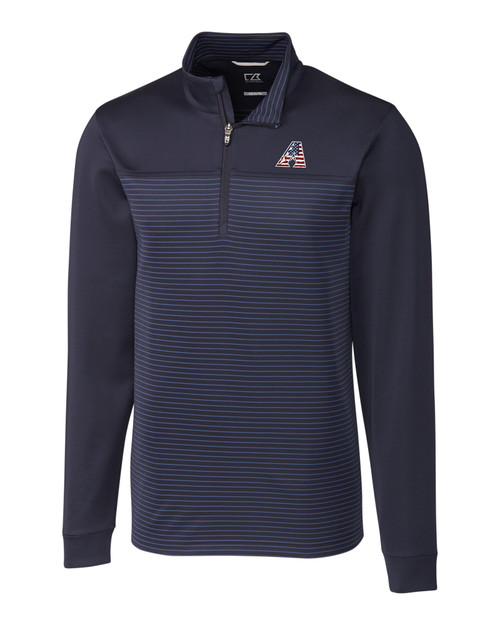 Arizona Diamondbacks Americana B&T Traverse Stripe Half-Zip