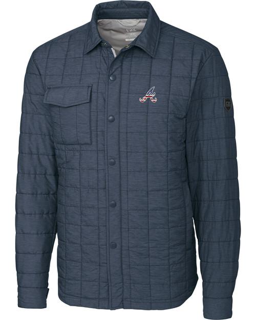 Atlanta Braves Americana B&T Rainier Shirt Jacket