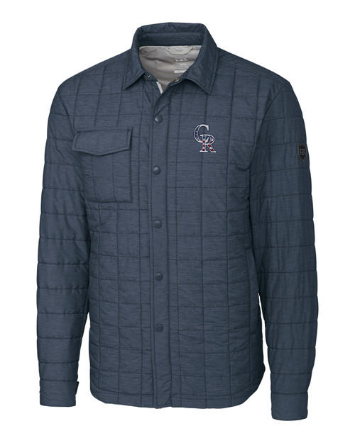 Colorado Rockies Americana B&T Rainier Shirt Jacket