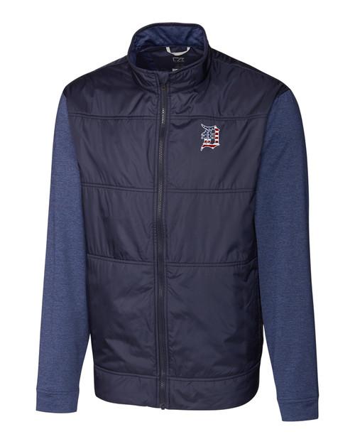 Detroit Tigers Americana B&T Stealth Full Zip Jacket