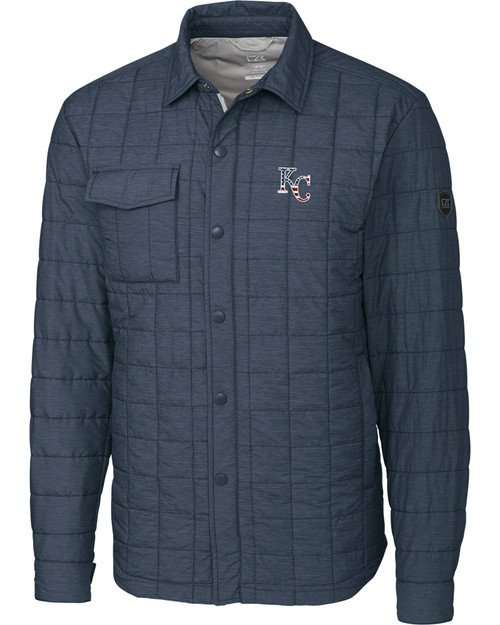 Kansas City Royals Americana B&T Rainier Shirt Jacket