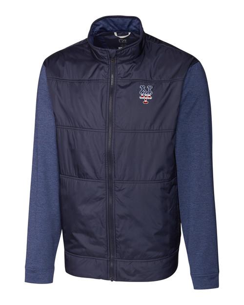 New York Mets Americana B&T Stealth Full Zip Jacket