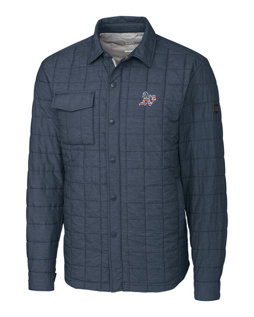 Oakland Athletics Americana B&T Rainier Shirt Jacket