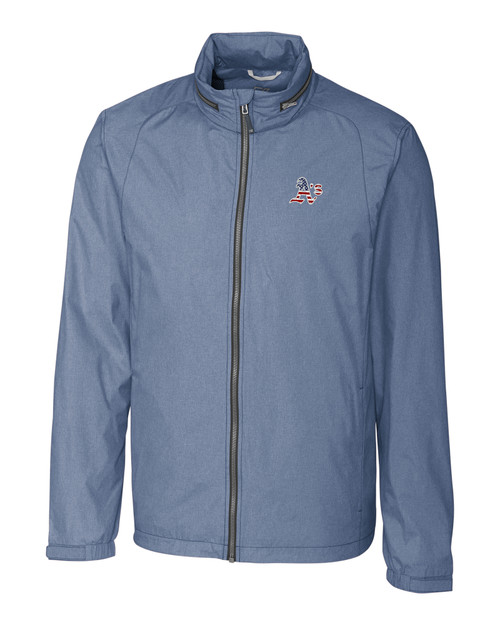 Oakland Athletics Americana B&T Panoramic Jacket 1