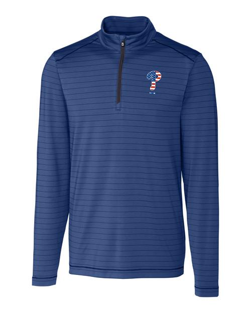 Philadelphia Phillies Americana B&T Holman Stripe Half-Zip