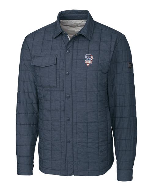 San Francisco Giants Americana B&T Rainier Shirt Jacket