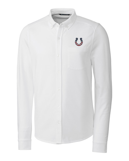 Indianapolis Colts Americana Reach Oxford Shirt