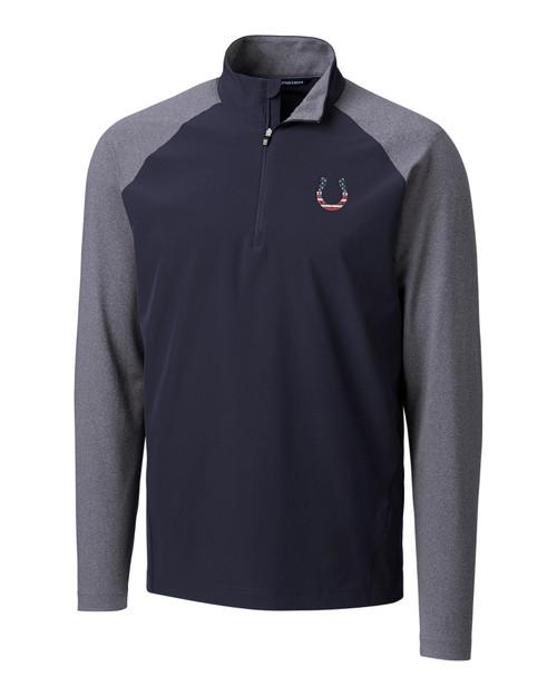 Indianapolis Colts Americana Response Hybrid Half-Zip