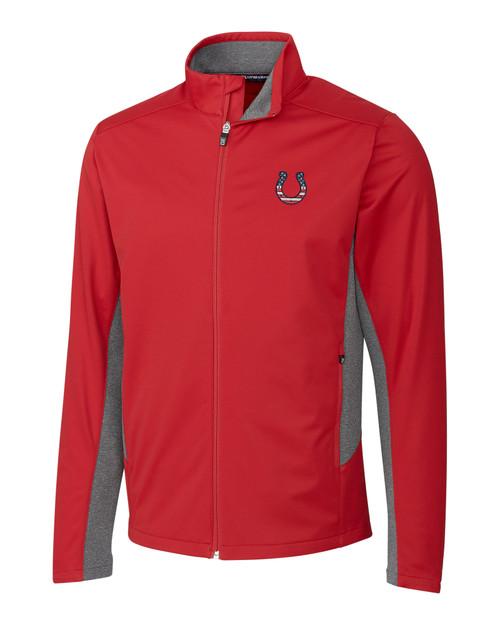 Indianapolis Colts Americana Navigate Softshell Jacket
