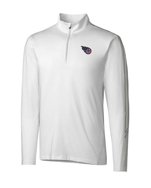 Tennessee Titans Americana Pennant Sport Half Zip 1