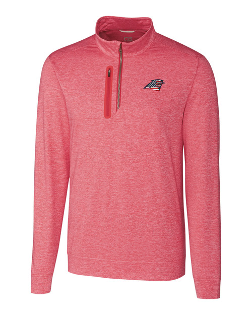 Carolina Panthers Americana B&T Stealth Half-Zip 1