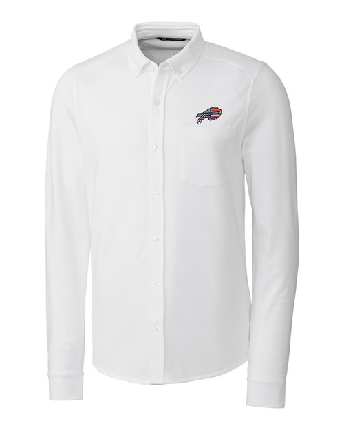 Buffalo Bills Americana B&T Reach Oxford Shirt