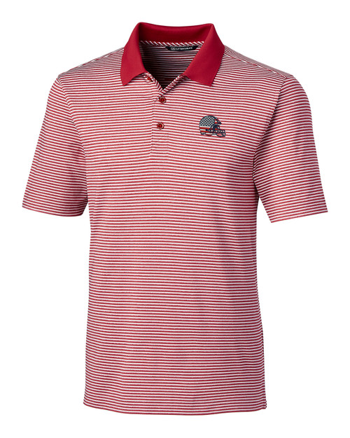 Cleveland Browns Americana B&T Forge Polo Tonal Stripe