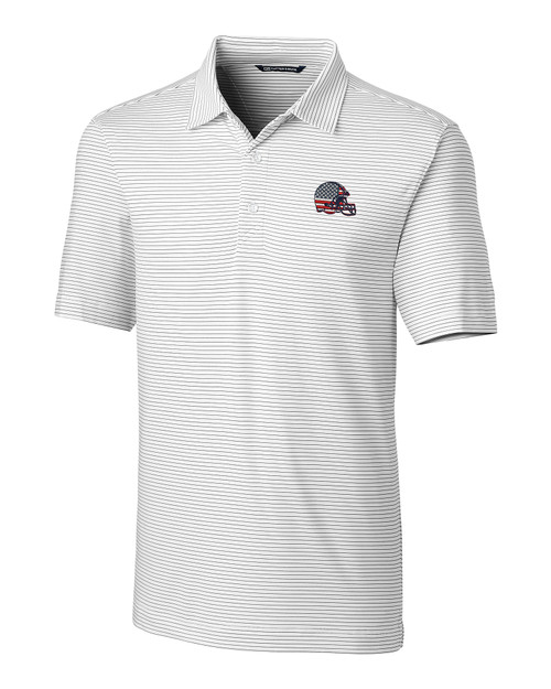 Cleveland Browns Americana B&T Forge Pencil Stripe Polo