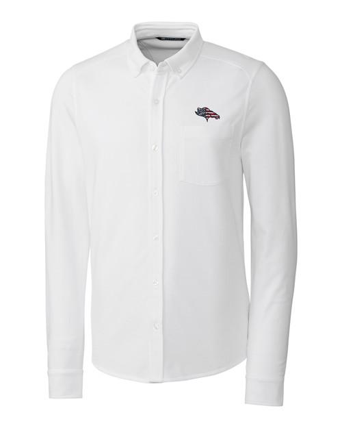 Denver Broncos Americana B&T Reach Oxford Shirt