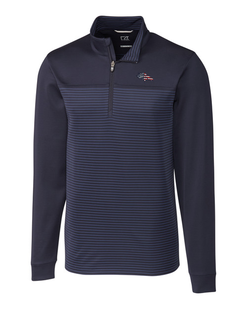 Denver Broncos Americana B&T Traverse Stripe Half-Zip