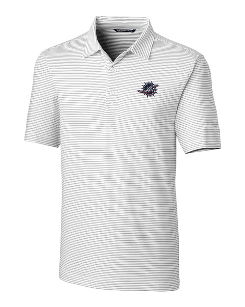 Miami Dolphins Americana B&T Forge Pencil Stripe Polo