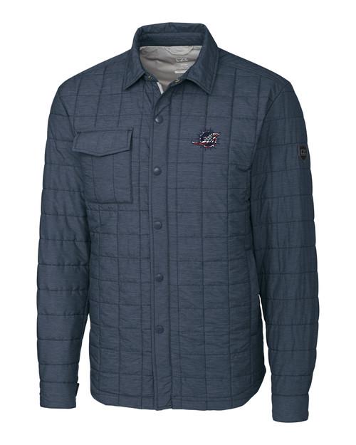 Miami Dolphins Americana B&T Rainier Shirt Jacket