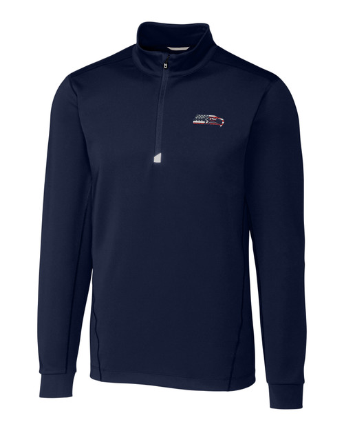 Seattle Seahawks Americana B&T Traverse Half-Zip