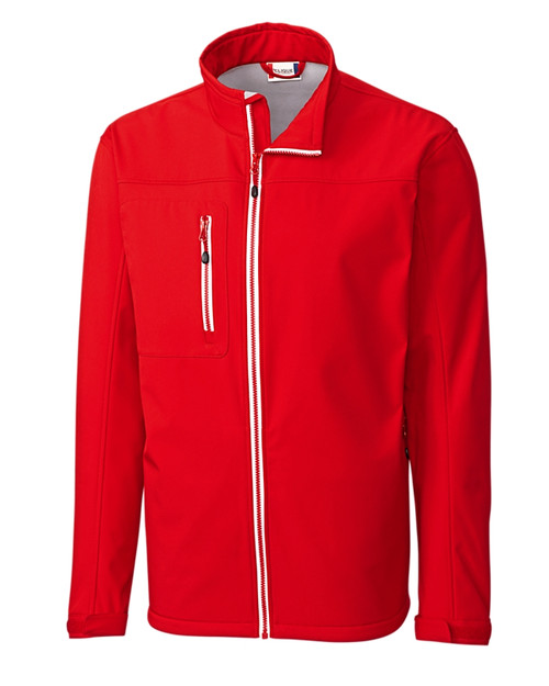 Clique Telemark Softshell Waterproof Jacket in red