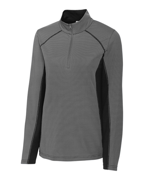 Clique Ladies' Ice Colorblock Half Zip 1