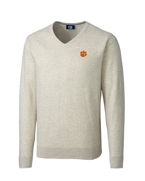 Clemson Tigers B&T Lakemont V-Neck Sweater