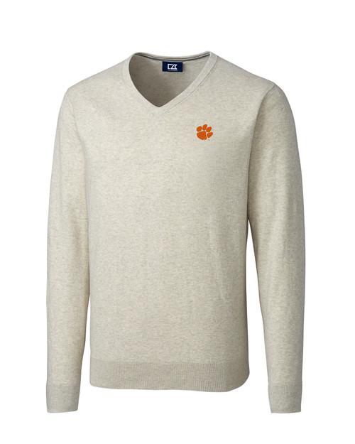 Clemson Tigers B&T Lakemont V-Neck Sweater 1