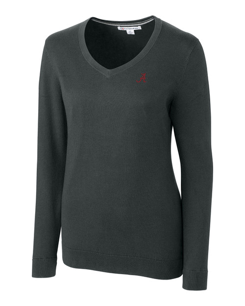 Alabama Crimson Tide Ladies' Lakemont V-Neck Sweater 1