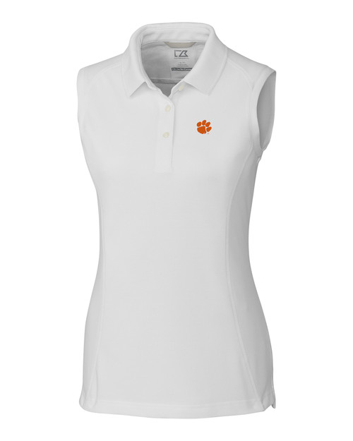 Clemson Tigers Ladies' Sleeveless Advantage Polo