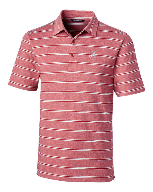 Alabama Crimson Tide Forge Polo Heather Stripe 1