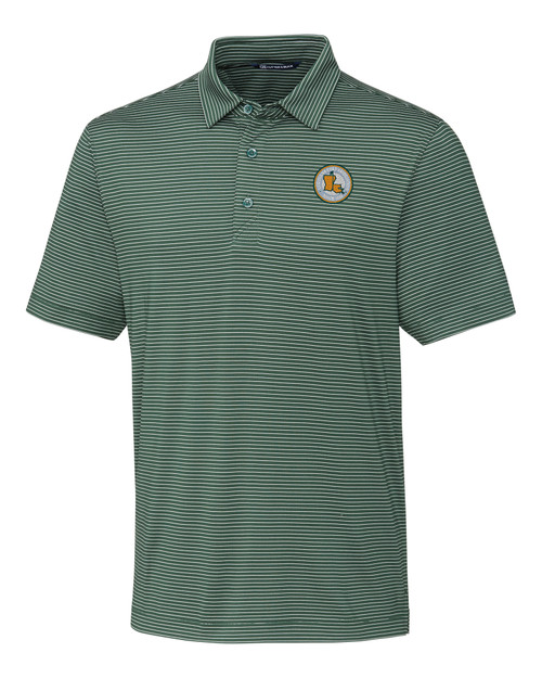 LGA Men's Forge Polo Pencil Stripe