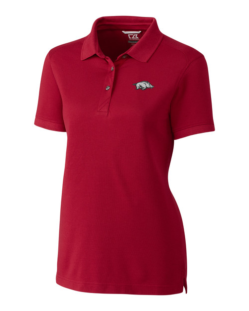 Arkansas Razorbacks Ladies' Advantage Polo